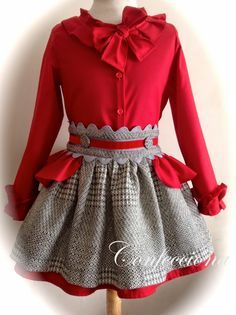 Aquascutum Gives Their Signature Check A - Diy Crafts - DIY & Crafts Little Girl Outfits, Little Girl Fashion, Little Girl Dresses, Kids Outfits, Baby Girl Dresses, Baby Dress, Cute Dresses, Flower Girl Dresses, Baby Skirt