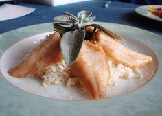 Risotto al pesce Persico del Lago di Como