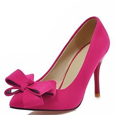 Every girl needs a pair of pink stiletto heels, right? Click to get yours.