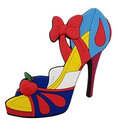 ac37b78441c8 Disney Parks - Snow White High Heel Shoe - Soft Touch Mag.