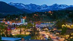 Town of Estes Park in Colorado