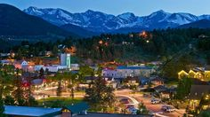Town of Estes Park in Colorado
