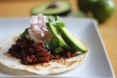 Chipotle BBQ Seitan Tacos