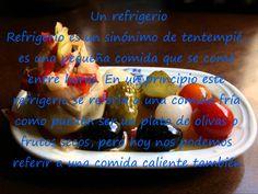 Vocabulario relacionado con las comidas. Spanishfspain