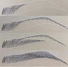 Eyebrows Sketch, Mircoblading Eyebrows, How To Draw Eyebrows, Eyebrow Makeup Tips, Permanent Makeup Eyebrows, Eye Makeup, Eyebrow Styles, Eyebrow Design, Maquillage Yeux Cut Crease