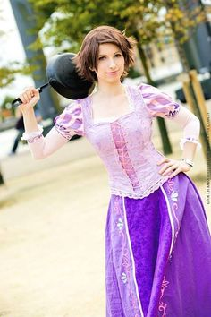 Tangled cosplay