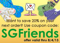 #couponcode for 20% off your next order! Great for Back to School