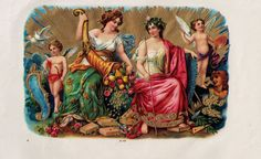 """Board """"Art-Seductive Women of Cigars Labels"""". - Cornucópia is a symbol of plenitude, strong harvest and abundance.The Cornucópia usually had cigars or gold coins overflowing with fruits, and abundant harvest. Vintage Labels, Vintage Ephemera, Vintage Ads, Cigar Box Art, Vintage Cigar Box, Seductive Women, Greek History, Simple Minds, Guardian Angels"""