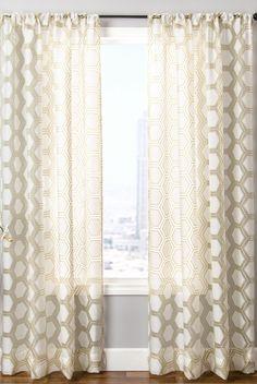 Gaios Rod Pocket Curtain Single Panel