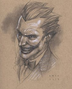 The Joker by Mike Choi *