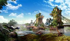 Sony do Reino Unido mostra como seria a Terra da Rainha no mundo de Horizon Zero Dawn - EExpoNews
