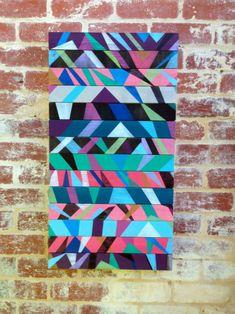 A Arte colorida do australiano Dave Wolfy