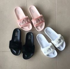 Need these...rihanna puma slides