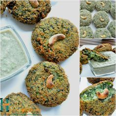 Hara Bhara kebab is a quick & easy vegetarian kebab made with spinach and green peas and perked with authentic Indian spices. This snack is ideal for parties, potlucks, get together etc. you can also eat these kebabs as evening snack with tea or coffee. Enjoy this mouthwatering starter with chutney of your choice.