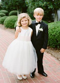 classic flower girl + ring bearer | Justin DeMutiis #wedding