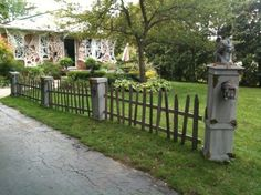 halloween graveyard ideas | Static: New Cemetery Entrance Columns and Posts - Page 2