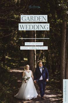 Garden Wedding, Summer Wedding, Finland, Wedding Inspiration, Lettering, Wedding Dresses, Villa, Bride Dresses, Bridal Gowns