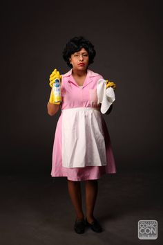 Consuela from Family Guy cosplay at Salt Lake Comic Con 2015