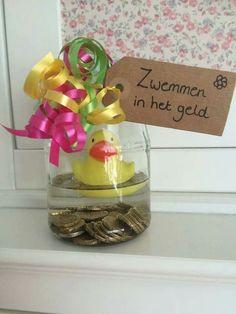 Zwemmen in het geld: