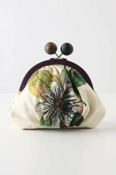 Cute Gift: Encyclopedia Sketch Coinpurse from Anthropologie I use a larger version for my iPod . Moustaches, Handbag Accessories, Fashion Accessories, Shabby Look, Couture Details, Vintage Purses, Uk Fashion, Bridesmaid Jewelry, Shoes