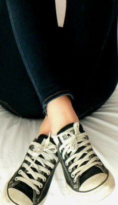 I'm such a girly girl, but I'd choose my converse over heels any day!