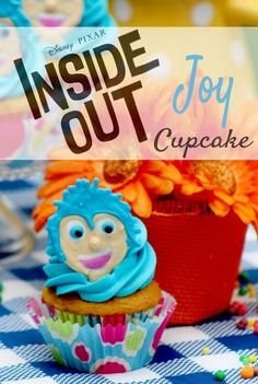 Disney/Pixar's Inside Out Movie Joy Inspired Cupcakes