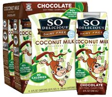 Possible FREE So Delicious Dairy Free Chocolate Coconut Milk on http://hunt4freebies.com
