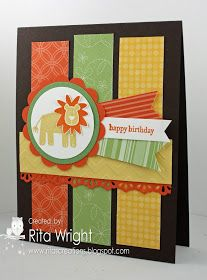 Rita's Creations: Scrap Card Sunday