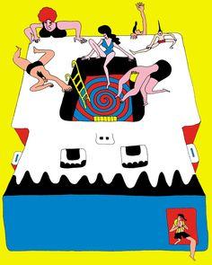 Wakana Yamazaki illustration 2011