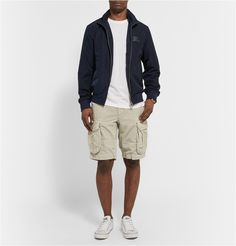 Cargo shorts are a classical off-duty piece and <a href='http://www.mrporter.com/Shop/Designers/Slowear'>Slowear</a>'s cotton and linen-blend version are first class. Team them with a simple T-shirt and sporty sneakers for weekends on-the-go.