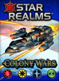 Star Realms: Colony Wars, 8.0 BGG rating.