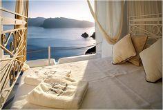 Katikies Hotel, Santorini Greece..Amazing.