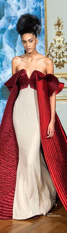 Alexis Mabile Haute Couture F/W 2014-15. Regal.