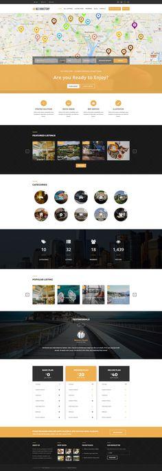 49 best drupal themes images on pinterest in 2018 drupal design biz directory complete directory drupal template 63511 wordpress template wordpress theme website maxwellsz