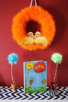 The Crafty Practitioner: Foster's Lorax Party: The Front Door & Entryway