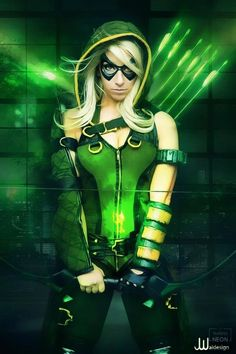Genderbent Green Arrow by Its-Raining-Neon on deviantART