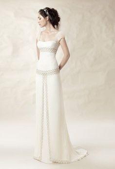 WhiteDay by Jose M Peiro wedding dresses.ru catalog of wedding dresses Stunning Wedding Dresses, Beautiful Gowns, Beautiful Outfits, Wedding Gowns, Celtic Dress, Vetement Fashion, Mode Vintage, Dream Dress, Pretty Dresses