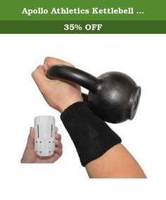 Apollo Athletics Kettlebell Wrist Guards (Pair). Apollo Athletics Kettlebell Wrist Guards - These are two protective wrist bands specifically designed for kettlebell lifters. Avoid forearm and wrist discomfort and bruising during kettlebell over-swing training. The padded reinforced KB wrist guards have hard contoured inserts to provide protection against kettle bell impact, similar to shin guards for soccer. Includes (1) set reinforced wrist guards (two wrist bands).
