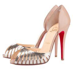 Zapatos Louboutin plataforma y tacón!