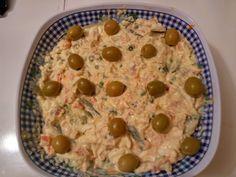 Receta de una ensaladilla rusa express. Muy fácil y rápida de hacer. Ensalada Rusa Recipe, Cooking Recipes, Healthy Recipes, Empanadas, Chicken Recipes, Oatmeal, Dishes, Breakfast, Blog