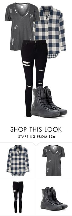 """""""Lazy Day"""" by kbwalrus on Polyvore featuring Madewell, Topshop, Miss Selfridge and Converse"""