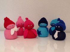 Foto: Leuke lieve poppetjes. Eenvoudig en goed te maken met kinderen. Ze zijn…