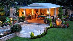 Diseño de Jardines Modernos. HD-3D. Best garden design creations. Arte y...
