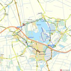 Fietsroute: Midwolda, Winschoten en Blauwestad  (http://www.route.nl/fietsroutes/139557/Midwolda-Winschoten-en-Blauwestad/)