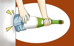 How to Open a Wine Bottle Without a Corkscrew: 17 steps