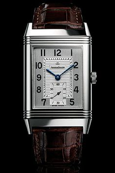 Jaeger-LeCoultre Reverso.  Every time I see this name I think of Bad Teacher!