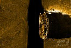 カナダの調査団が発見した英探検船。パークス・カナダ(Parks Canada)HPより(撮影日不明、2014年9月10日取得)。(c)Parks Canada ▼12Sep2014AFP|1846年に行方不明の英北極探検船、カナダ調査団が発見 http://www.afpbb.com/articles/-/3025507 #John_Franklin