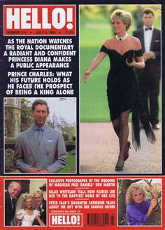 We were still trying to get our heads around the separation of Prince Charles and Princess Diana. In June Charles admitted his extramarital affair with Camilla Parker Bowles. Princess Diana Images, Princess Diana And Charles, Prince And Princess, Prince Charles, Alfred The Great, Hello Magazine, Camilla Parker Bowles, Princes Diana, Duchess Of Cornwall