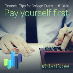 What does it mean to pay yourself first? Take care of your financial obligations before splurging!
