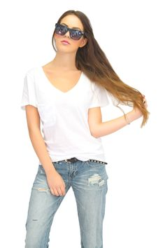 White Tee.  www.shopmixology.com
